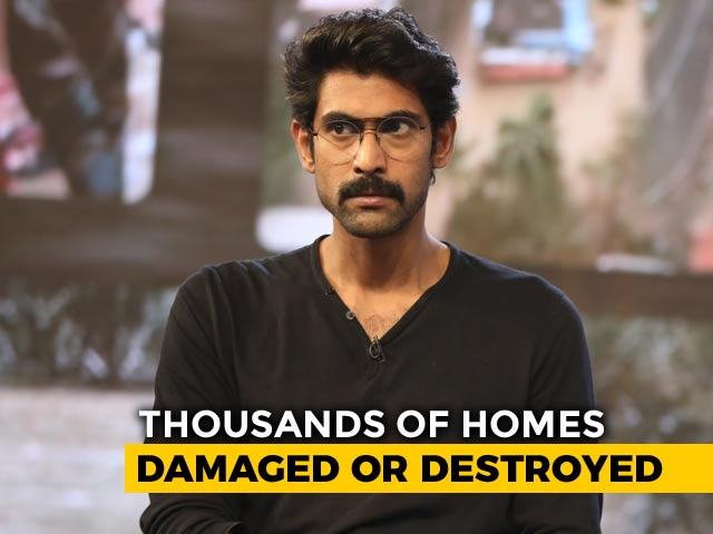 Video: Incidents Like Kerala Floods Show Each Of Us Care For One Another: Rana Daggubati