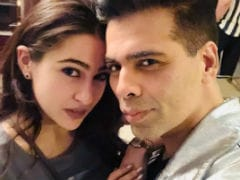 Sara Ali Khan Makes Instagram Debut, Karan Johar Welcomes Her