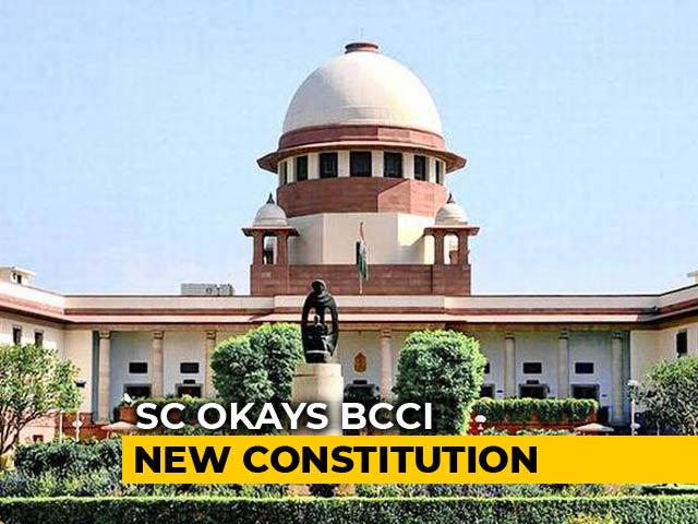 Supreme Court Modifies 'One State, One Vote' Policy, Approves Draft Cricket Board Draft Constitution