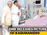 Video : Venkaiah Naidu Visits M Karunanidhi In Hospital, DMK Releases Photo