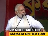 Video : Pointing At Mamata Banerjee, PM Modi Says Bengal's Durga Puja In Danger