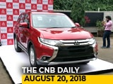 Video: Mitsubishi Outlander, Maruti Suzuki Ciaz Launch, Mahindra Marazzo