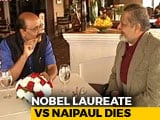 Video : Walk The Talk With VS Naipaul (Aired: October, 2004)