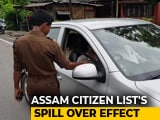 """Video : Check Points Come Up In Meghalaya To Keep Assam """"Rejects"""" At Bay"""