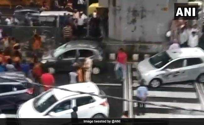 4 Teenaged Kanwariyas Among 9 Held For Vandalizing Car In Delhi