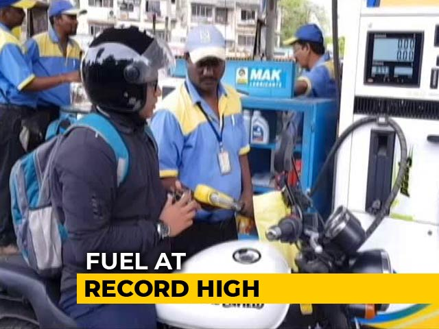 Video : Petrol, Diesel Prices Hit Record Levels, Rates Rise For Tenth Straight Day