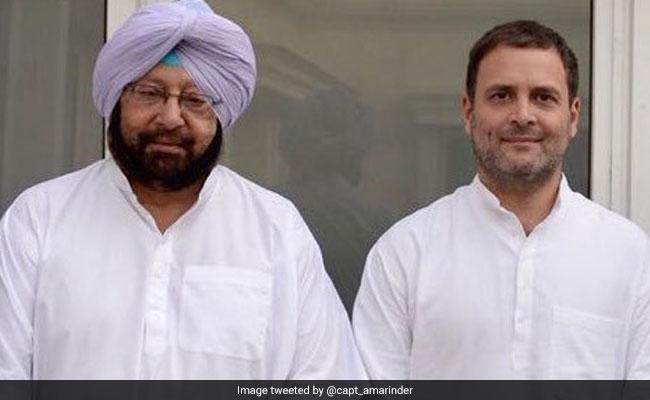 राहुल गांधी के बचाव में उतरे अमरिंदर, कहा- 1984 दंगों के लिए कांग्रेस नहीं सिर्फ ये 5 लोग जिम्मेदार