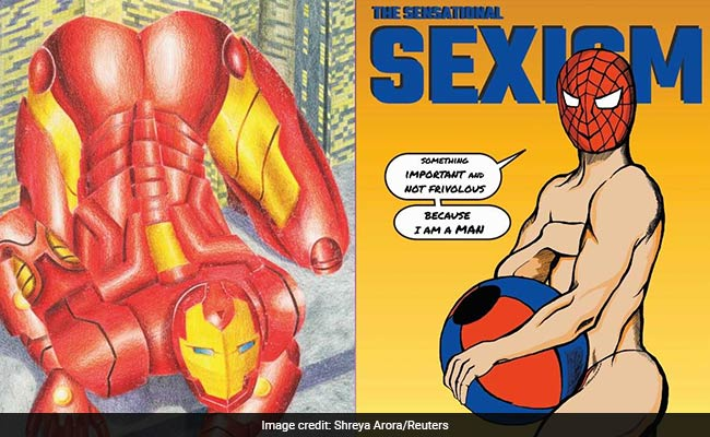 Spider-Man In A Thong, Drawn By An Indian Artist. For A Reason