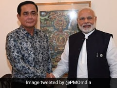 "PM Modi Holds ""Productive Talks"" With Thai Prime Minister"