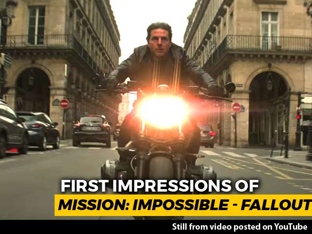 Video : First Impressions Of <i>Mission: Impossible - Fallout</i>