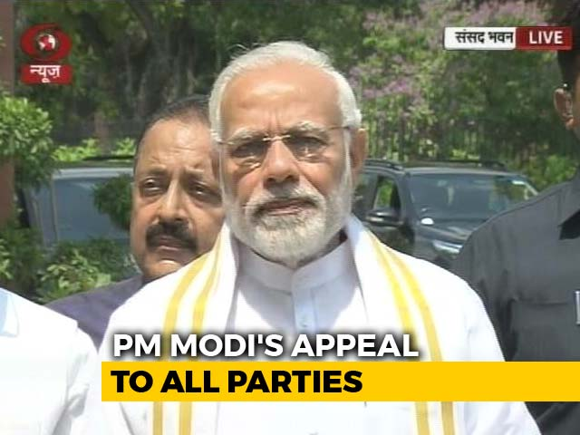Video : PM Says Ready For Any Discussion As Congress Leads No-Trust Offensive