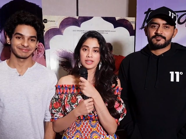 Video : We Are Overwhelmed By The Response That <i>Dhadak</i> Has Got: Janhvi & Ishaan