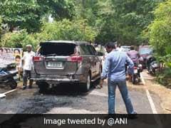 TTV Dhinakaran's Car Attacked With Petrol Bomb, Driver Injured