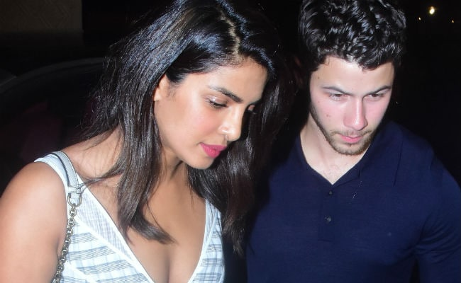 Priyanka Chopra-Nick Jonas Engagement