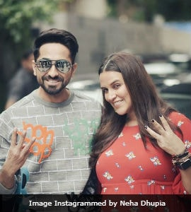Mom-To-Be Neha Dhupia Is Hard At Work Filming New Season Of Her Show
