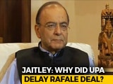 "Video : Congress' Allegations On Rafale Pricing ""Factually False"": Arun Jaitley"