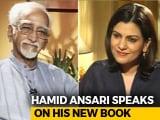 "Video : ""Danger Of India Becoming An Illiberal Democracy"" Says Hamid Ansari"