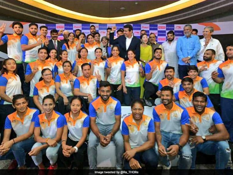 Rajyavardhan Rathore Asks Athletes To Behave Responsibly At Asian Games