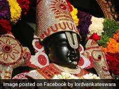 Shiv Nadar Donates 1 Crore To Famous Hill Shrine In Tirupati