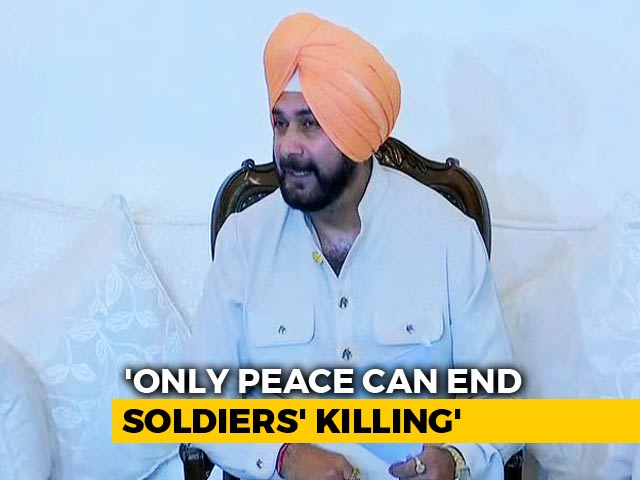 "Video : ""No One Questions PM Modi"": Navjot Sidhu Defends Controversial Pak Visit"