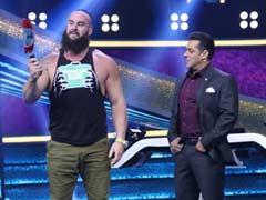 WWE रेसलर ने सलमान खान को किया चैलेंज, हाथ से मोड़ा लोहे का पैन और फिर हुआ कुछ ऐसा... देखें Video
