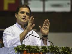 Speech Interrupted, Rahul Gandhi Says