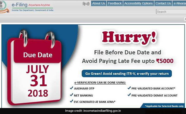 Last Date for IT Filing is July 31, Have you filed?