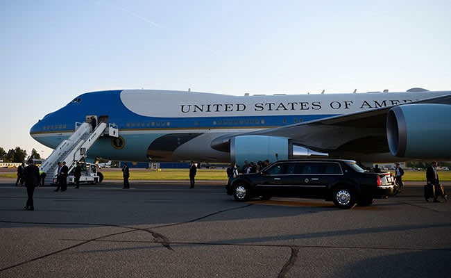 "Trump Orders Bold, New Paint Job For Air Force One, Says ""Take A Guess"""
