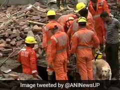 गाजियाबाद में 5 मंजिला निर्माणाधीन इमारत गिरी, एक की मौत आठ घायल
