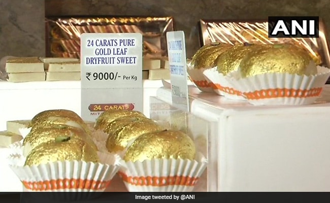 At Rs 9,000 Per Kilo, Mithai From This Surat Shop Is Literally 24-Karat