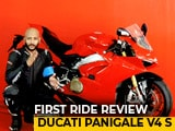 Video : Ducati Panigale V4 S First Ride Review