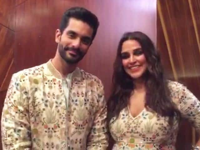 Neha Dhupia And Angad Bedi On Their Showstopper Experience At Lakme Fashion Week