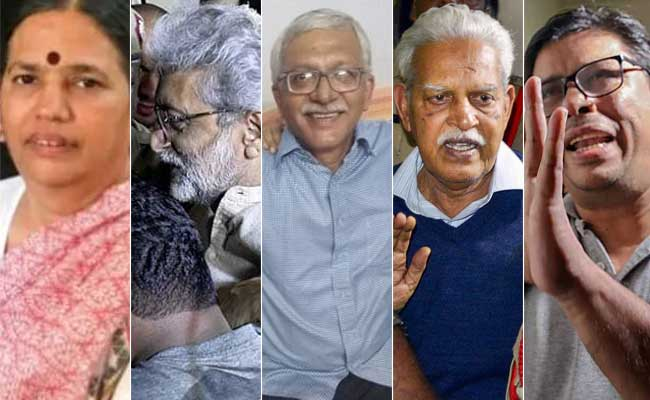 In State vs Activists, Supreme Court To Decide Today On House Arrest