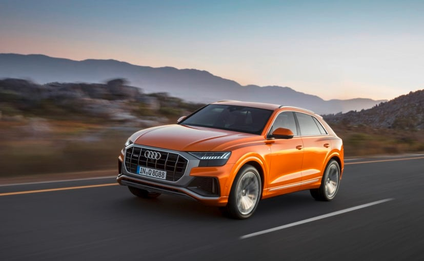 The base mode of the Audi Q8 is EUR 15,100 more expensive than a base model of the Q7