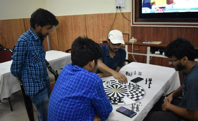 IIT Roorkee students playing three-player chess