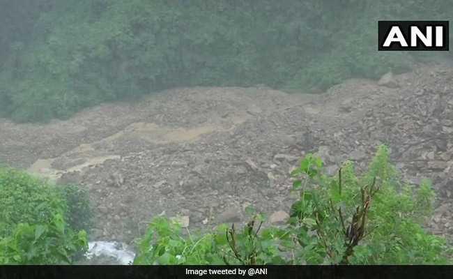 Rainfall, Landslides Form 100 Metre Long Lake In Uttarakhand