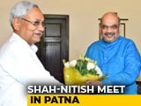 Video : Amit Shah Meets Nitish Kumar For Breakfast, Talks On Seats Over Dinner