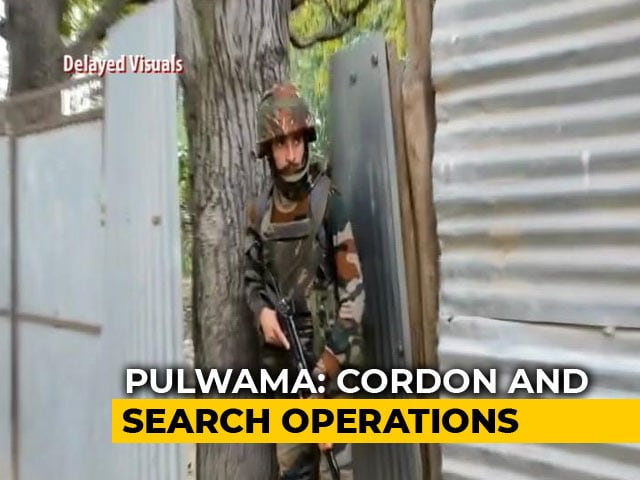 Video : Massive Search Operation Underway In Jammu And Kashmir's Pulwama