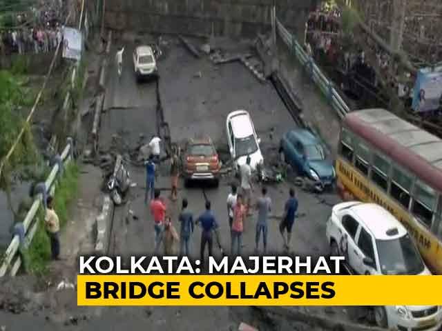 Video : Kolkata Bridge Collapses, Rescue Teams On Spot