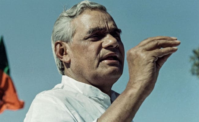 No Politician Has Been Able To Match Vajpayee's Popularity: Nitish Kumar