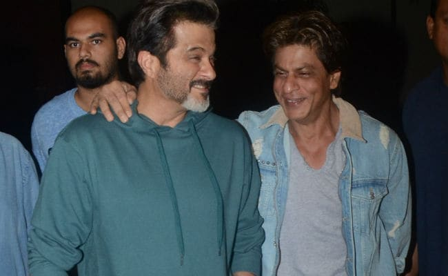 Image result for Shahrukh Khan and Anil Kapoor