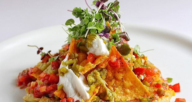 Spanish Omlette with Nachos