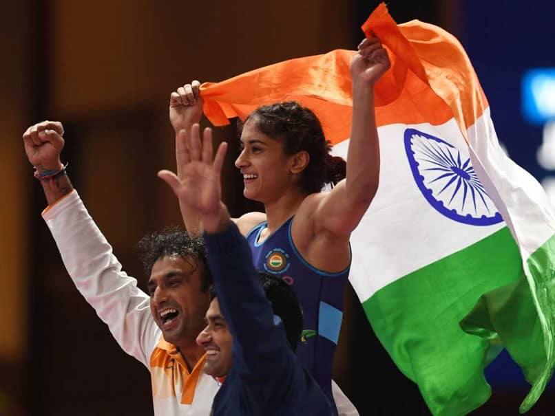 Asian Games 2018: Golden Girl Vinesh Phogat Wins Indias Second Gold; Shooters Add Two Silvers At Asiad