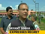 Video : Roasted For Garlanding Lynching Convicts, Jayant Sinha Apologises
