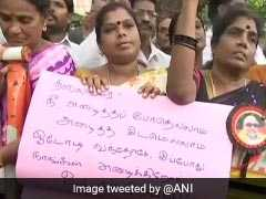 Tears, Prayers And Hope As Karunanidhi's Followers Wait Outside Hospital