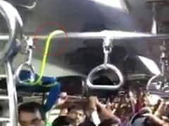 खचाखच भरी मुंबई की लोकल ट्रेन में जब अचानक दिखा सांप, फिर जानें क्या हुआ