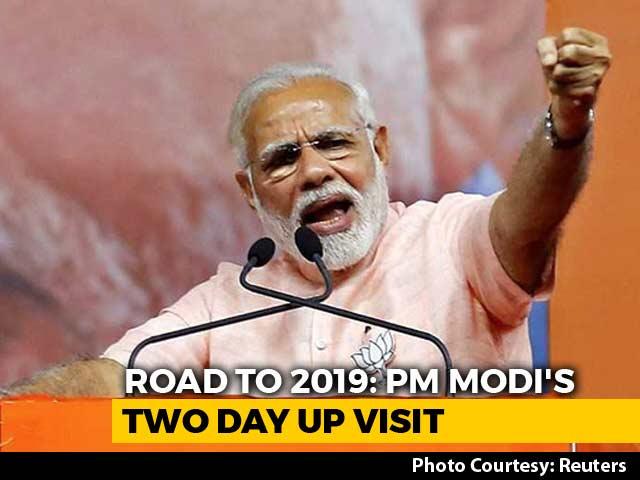 Video : PM Modi To Begin 2-Day Uttar Pradesh Tour Today