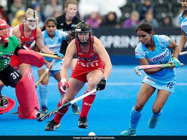 Womens Hockey World Cup: India Progress To Knockout Stage After 1-1 Draw Against USA