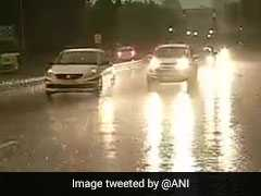 Delhi Weather Live Updates: Rain Slows Traffic, Delays Flights