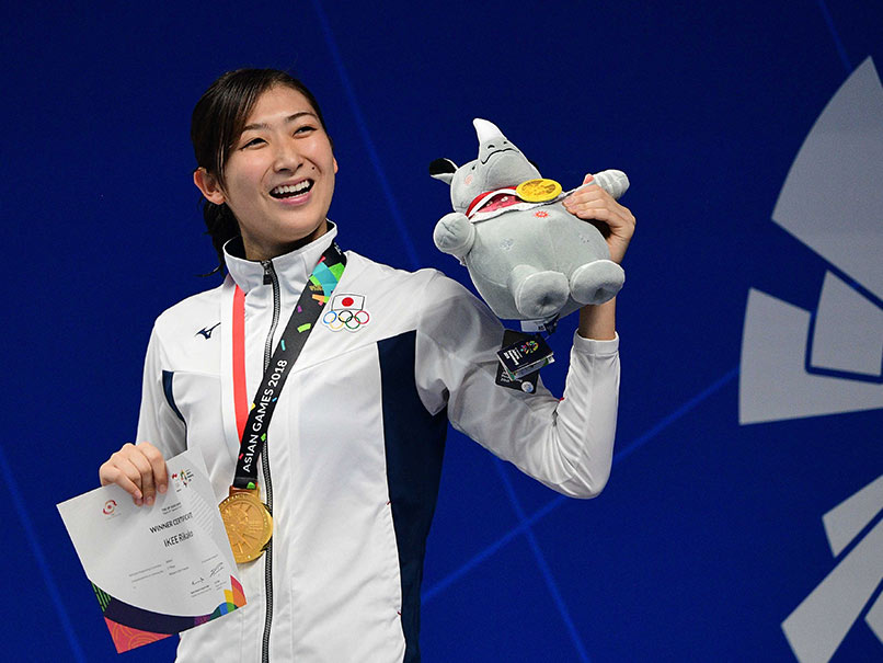 Asian Games: Japans Rikako Ikee Eyes Olympic Swim Glory